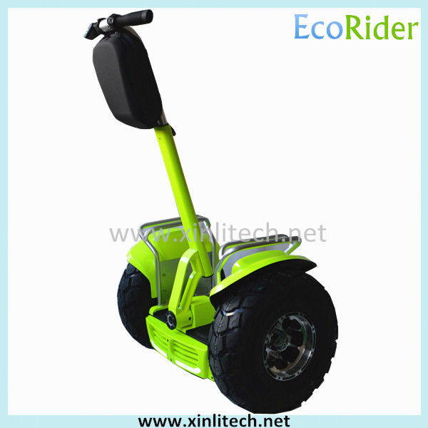 Fashion Adult Electric Scooter 2000W 60V Free Standing Waterproof Rubber Ring
