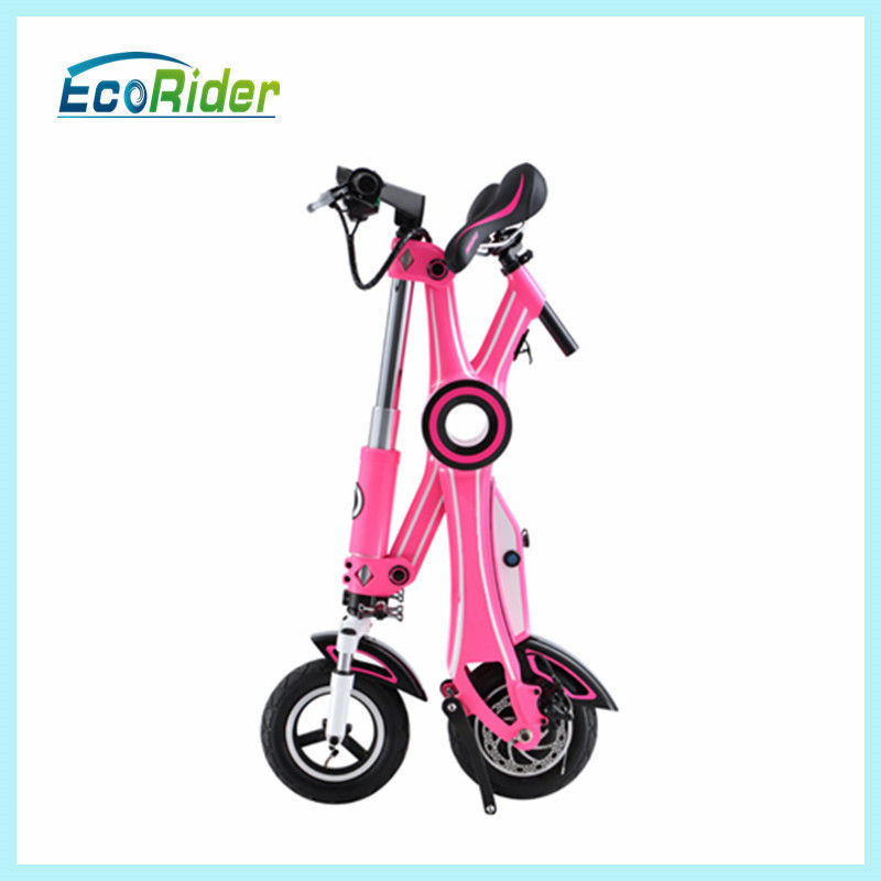 Maximum Distance Range 40km Electric Folding Scooter With Lithium Battery