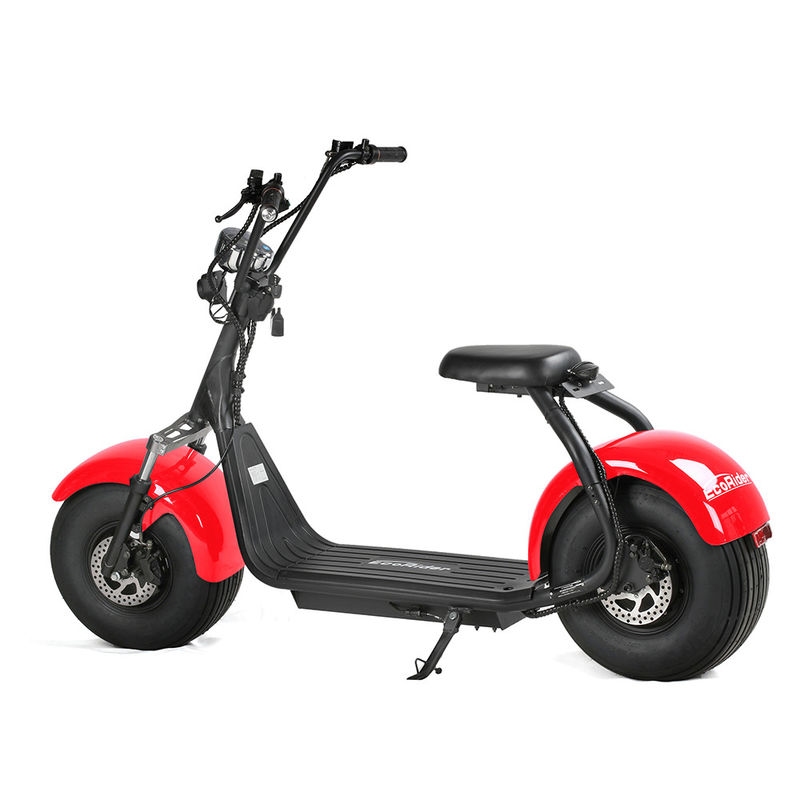 Double Disc - Braking 2 Wheel Electric Scooter Citycoco Colorful Adult Application