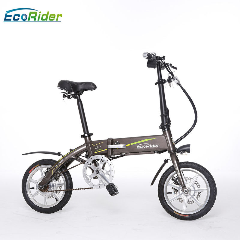 E6-4 2 Wheel Electric Bike 36V 250W Brushless Motor Lithium Battery Aluminum Alloy Frame