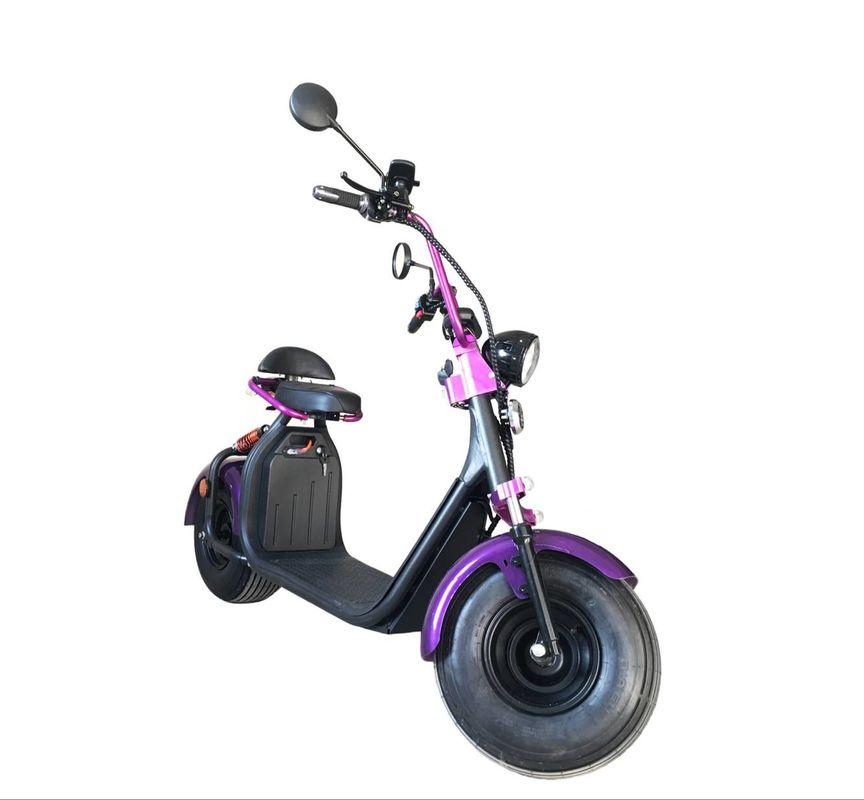 High End Two Wheel Motor Scooter ,1500W 60V Two Wheel Scooters For Adults